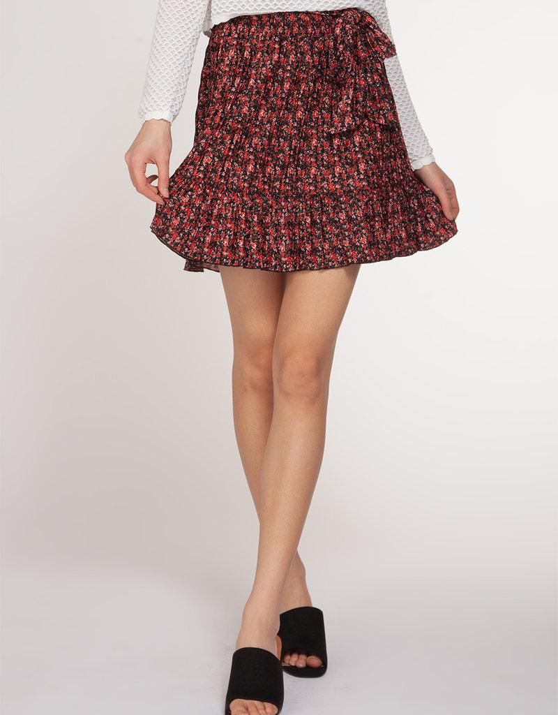 DEX Dex Skirt Pleated Mini W/ Tie