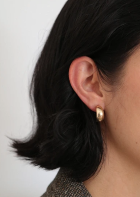 LISBETH Lisbeth Hannah Earrings Vintage Arc-Hoop