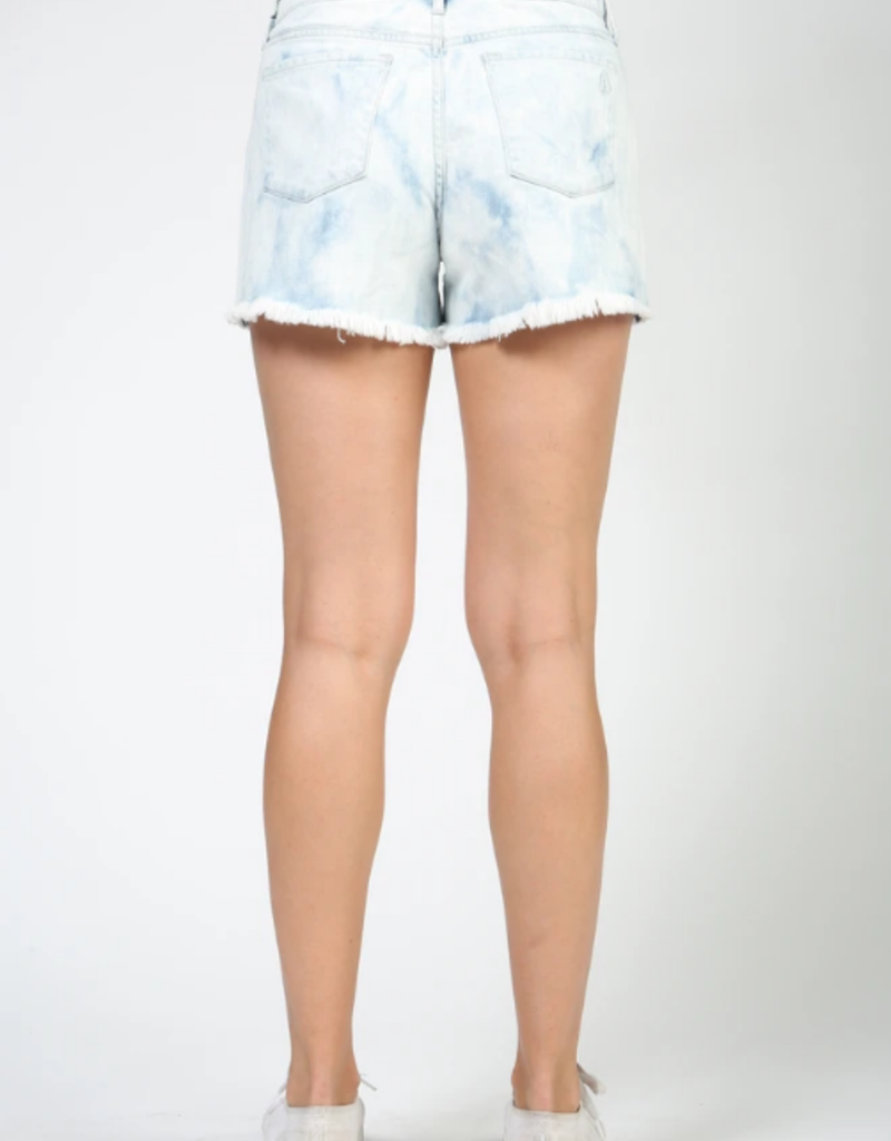 Articles of Society Articles of Society Meredith High Rise Distressed Shorts