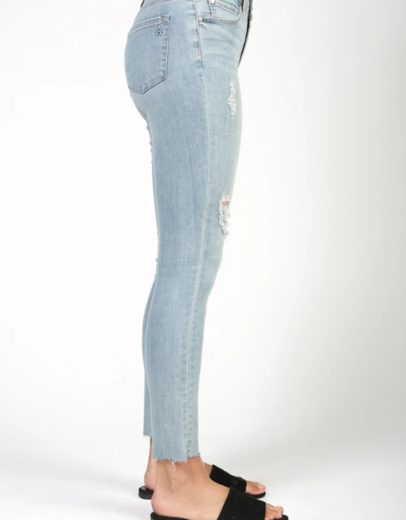 Articles of Society Articles of Society Carly High Rise Distressed Jeans