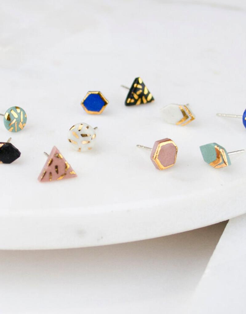 AMBER E LEA AMBER E LEA Mix & Match Porcelain Earrings