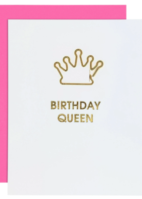 Chez Gagné Greeting Cards - Gold Paperclips