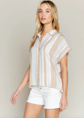 Thread and Supply Thread & Supply Sunland Button Striped Shirt