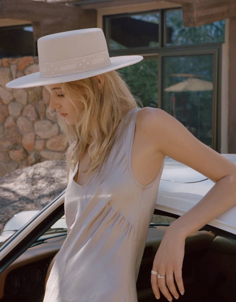 Lack of Color Lack of Color The Sierra Boater Hat F'20