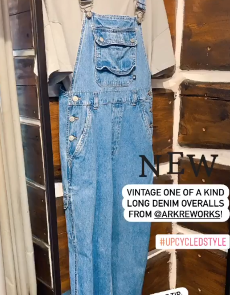 ARK REWORKED Ark Reworked Overalls Denim F'20