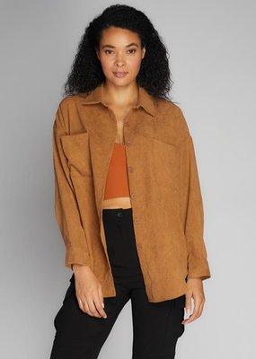 C'EST MOI C'est Moi Buttondown Wide Cord Shirt w/ Pocket F'20
