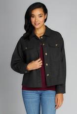 C'EST MOI C'est Moi Cropped Jacket w/ Chest Pocket F'20