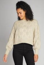 C'EST MOI C'est Moi Cropped Crew Neck Sweater F'20