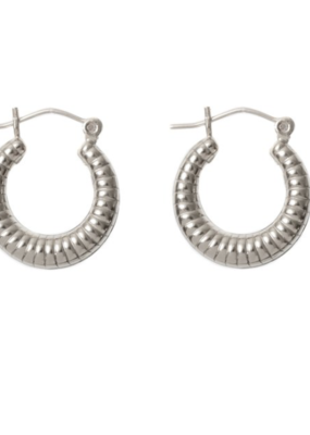 LISBETH Lisbeth Earrings Cindy Textured Hoops