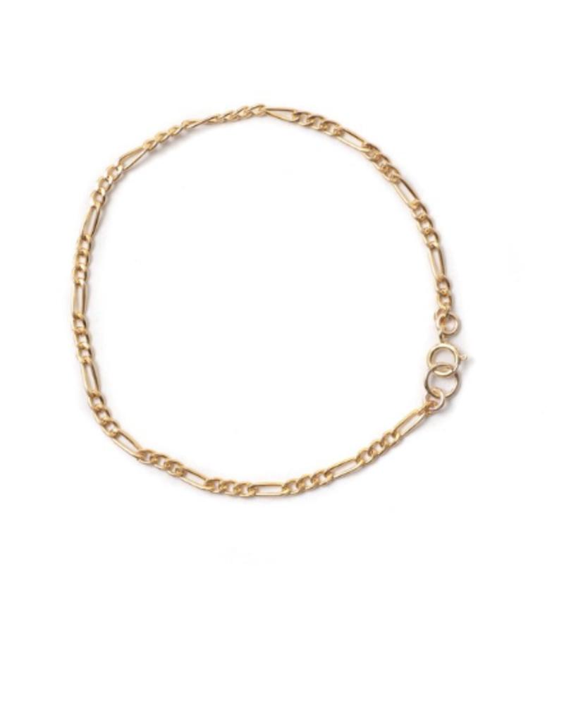 LISBETH Lisbeth Constance Bracelet Figaro Chain