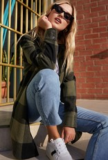 BB DAKOTA BB Dakota Jacket Eldridge Plaid Button Up F'20