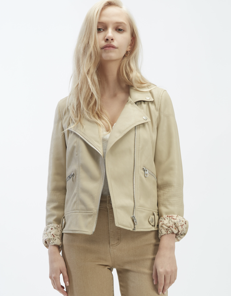 OAT NY OAT NY Moto Jacket BD Faux Leather F'20
