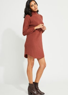 GENTLE FAWN Gentle Fawn Carter Sweater Dress L/Slv Mockneck F'20