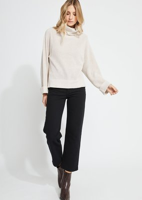 GENTLE FAWN Gentle Fawn Reagan Sweater L/Slv Relaxed Turtleneck w/ Side Slits F'20