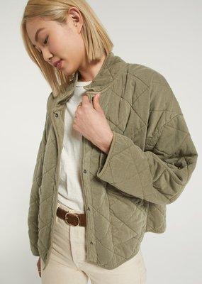 ZSUPPLY Z Supply Maya Jacket Quilted Buttondown w/ Pockets F'20