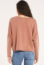 ZSUPPLY Z Supply The Harper Top Thermal Cropped L/Slv F'20