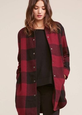 BB DAKOTA BB Dakota Jacket Eldridge Plaid Button Up F'20
