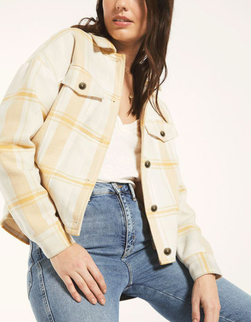 WHITE CROW White Crow Cubero Plaid Jacket w/ Pockets F'20