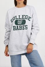 BRUNETTE BRUNETTE  'Big Sister' College of Babes Crew F'20