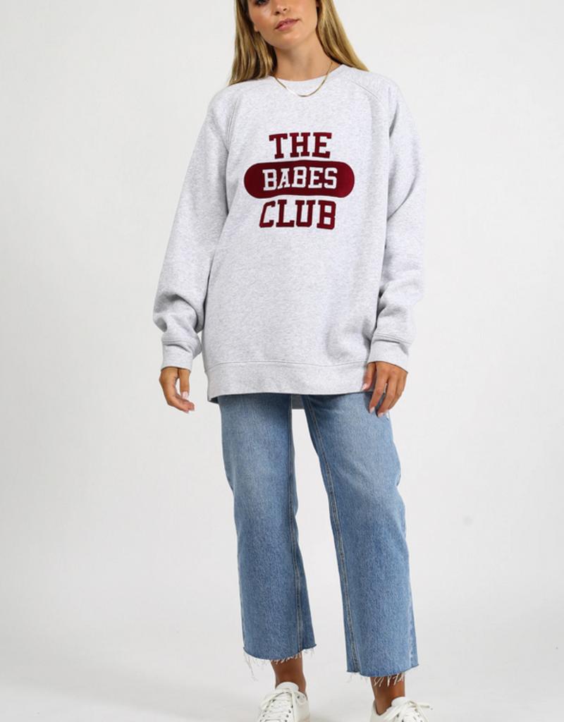BRUNETTE BRUNETTE  'Big Sister' The Babes Club Crew F'20