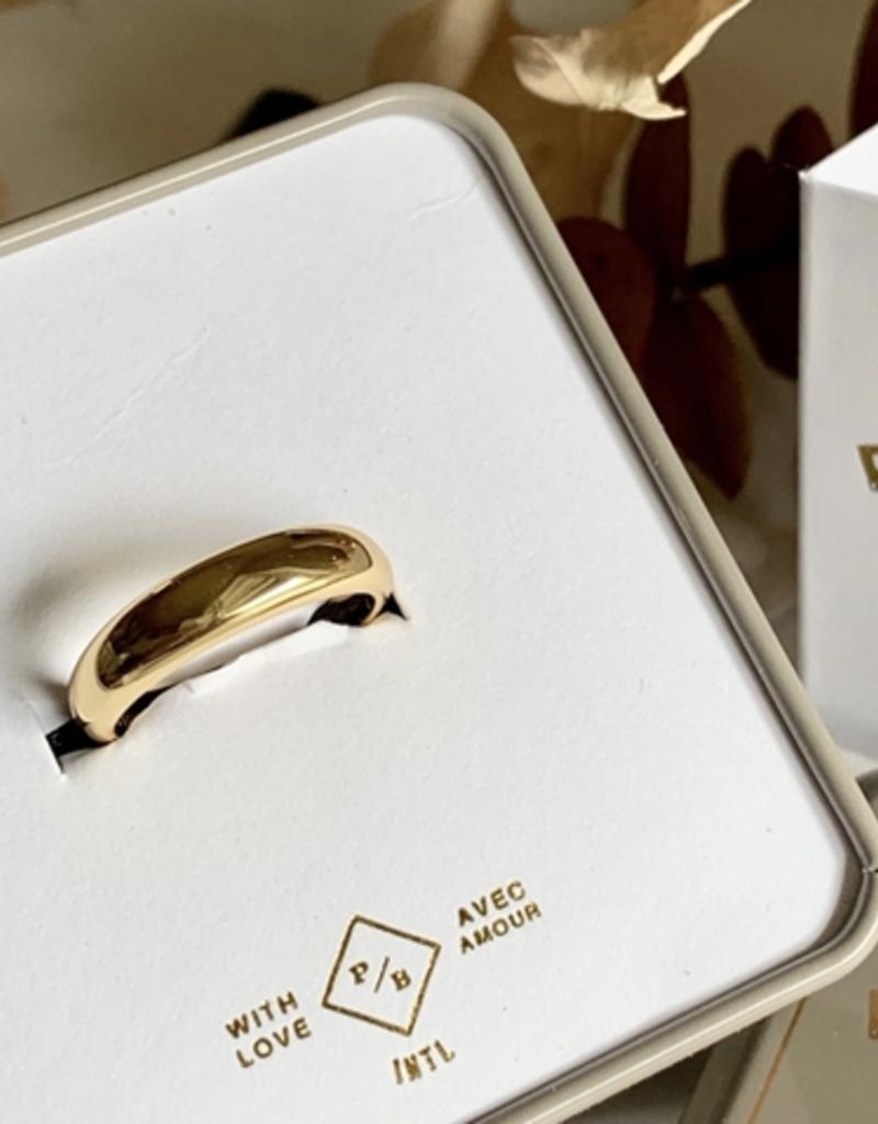 PIKA&BEAR Pika & Bear Ring 'Tuya' Dome Ring