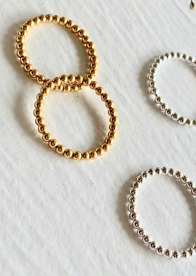 PIKA&BEAR Pika & Bear Ring 'Nala' Spinning Ball Vermeil Gold Ring