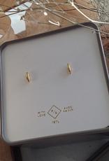 PIKA&BEAR Pika & Bear Earrings 'Brancusi' Minimalistic Stud