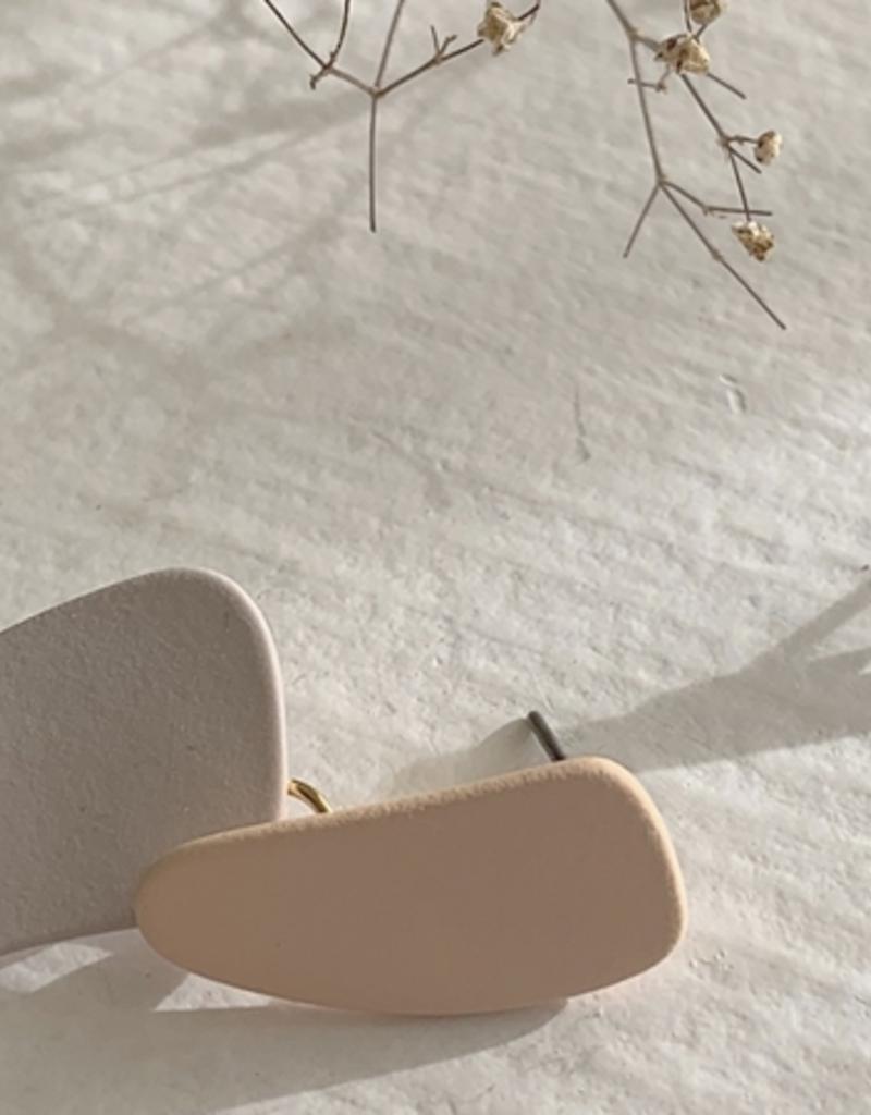 PIKA&BEAR Pika & Bear 'Painterly' Layered Drop Earrings