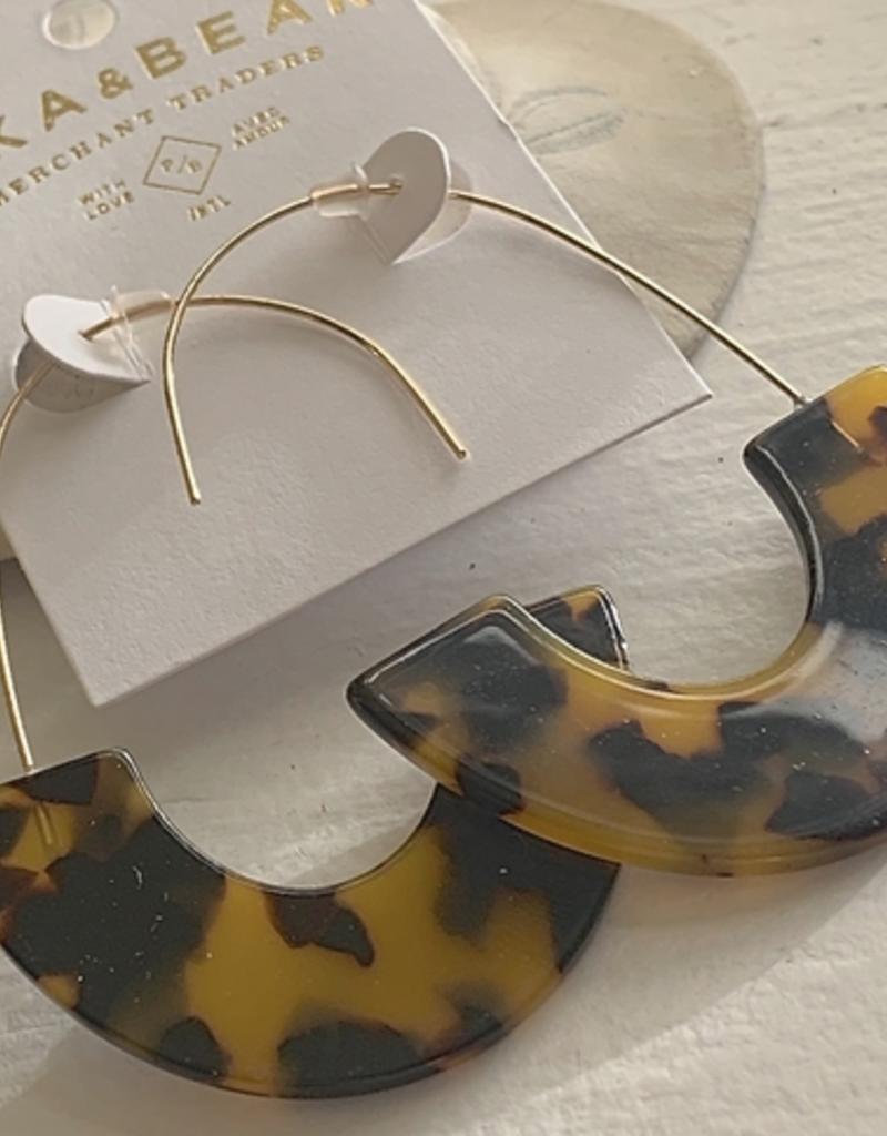 PIKA&BEAR Pika & Bear Earrings 'Ilhan' Acetate Drop