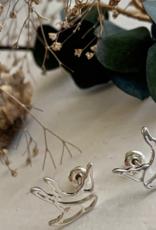 PIKA&BEAR Pika & Bear Earrings 'Swoop' Sillouette Bird Stud