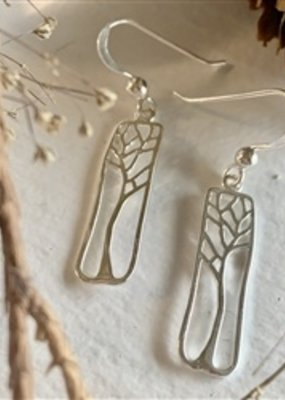 PIKA&BEAR Pika & Bear 'Hallerbos' Tree Drop Earrings