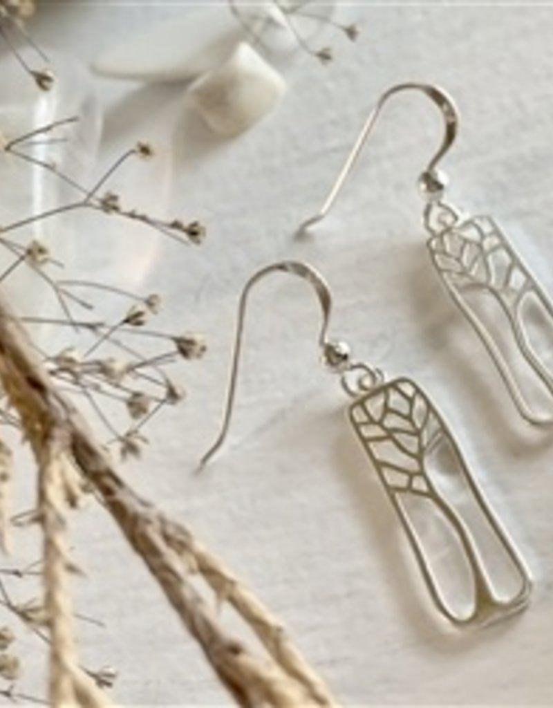 PIKA&BEAR Pika & Bear 'Hallerbos' Tree Drop Earrings