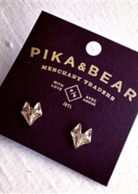 PIKA&BEAR Pika & Bear Earring 'Sly' Fox Studs