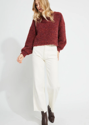 GENTLE FAWN Gentle Fawn Marin Sweater Cropped w/ Balloon Slv W'20