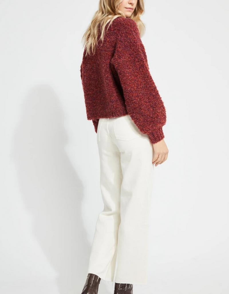 GENTLE FAWN Gentle Fawn Marin Sweater Cropped w/ Balloon Slv W'20