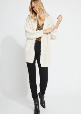 GENTLE FAWN Gentle Fawn Emery Cardi L/Slv w/ Cable Detail & Pockets W'20