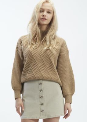 OAT NY OAT NY Mockneck Fence Sweater F'20