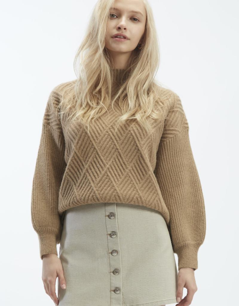 OAT NY OAT NY Top Mockneck Fence Sweater F'20