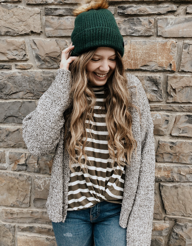 Orb Orb Snowflake Beanie Lined Ribbed Knit F'20