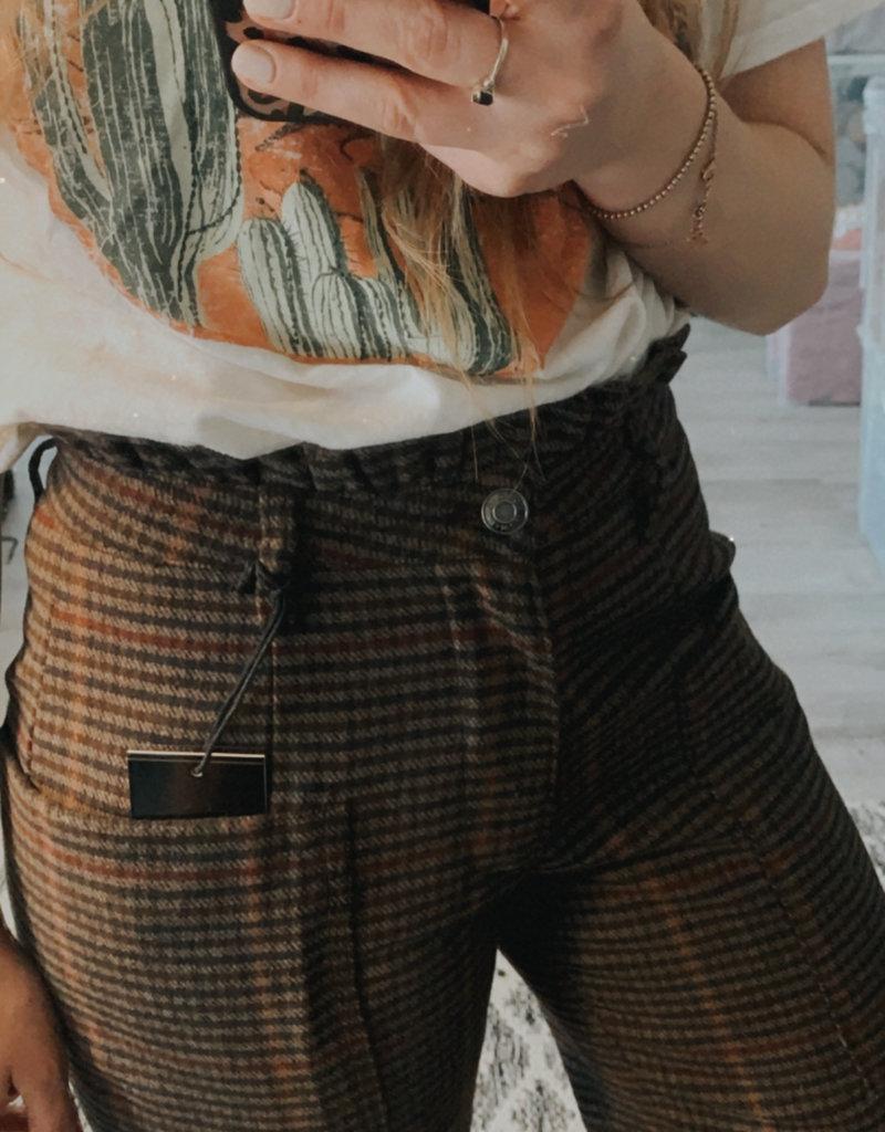 OAT NY OAT NY Paper Bag Pant H. Waisted Straight Leg F'20