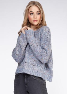 DEX Dex Isabella Sweater L/Slv Pom Pom W'20