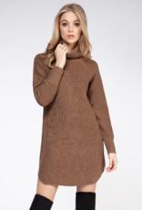 DEX Dex Amelia Sweater Dress Turtleneck W'20