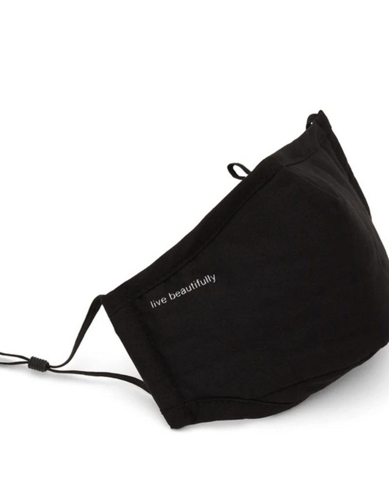 Matt & Nat 'Live Beautifully' Mask w/ Adjustable Loops & Ear Saver