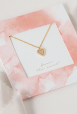 Lovers Tempo Lovers Tempo From the Heart Pave Necklace