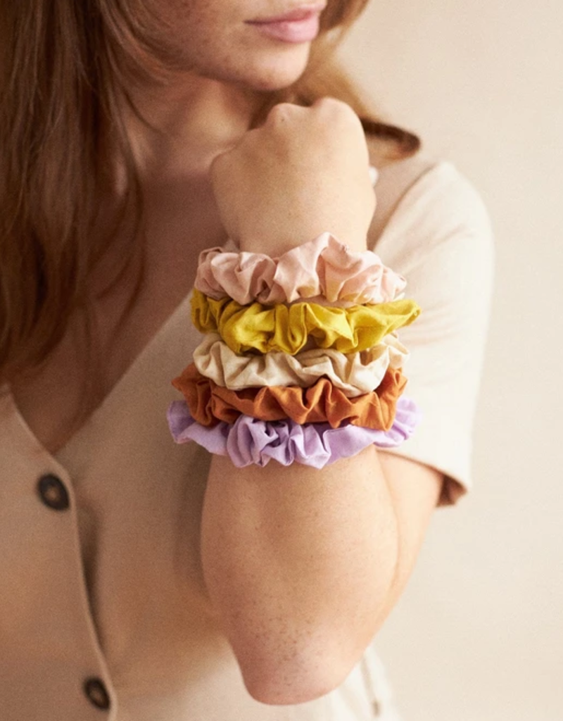 Lovers Tempo Lovers Tempo Mini Sunday Cotton Scrunchie