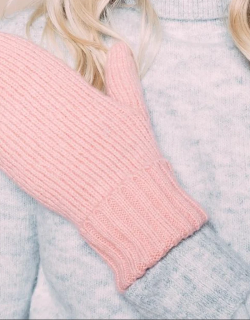 Orb Orb Snowflake Mitten Lined Ribbed Knit F'20