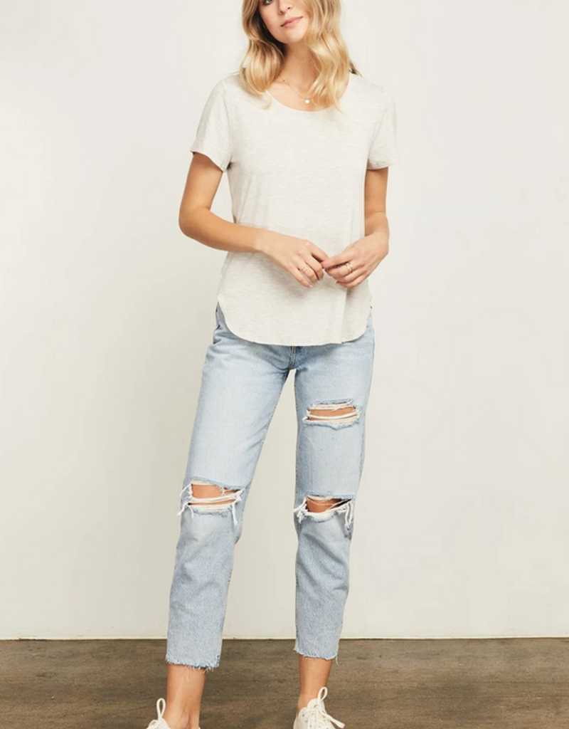 GENTLE FAWN Gentle Fawn Tee The Alabama Curved Hem S/Slv