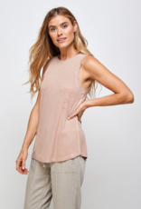 Thread and Supply CABIN Sinclair Ribbed Crew Tank