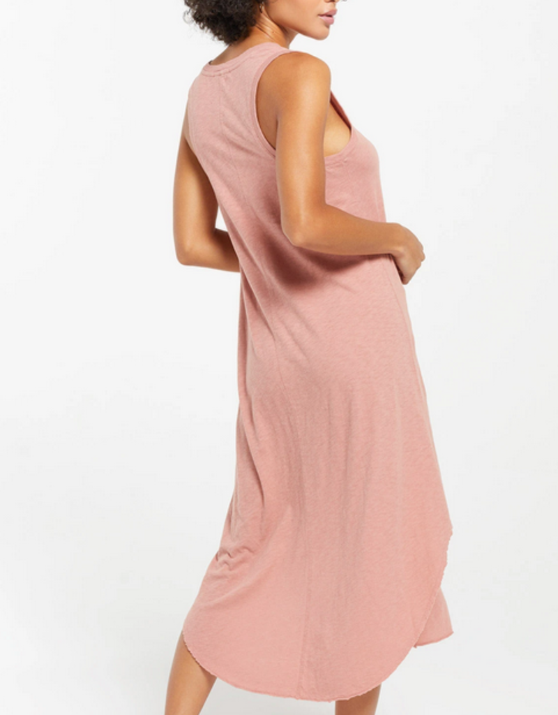 ZSUPPLY Z Supply Reverie Dress Slv/less Handkerchief Cut