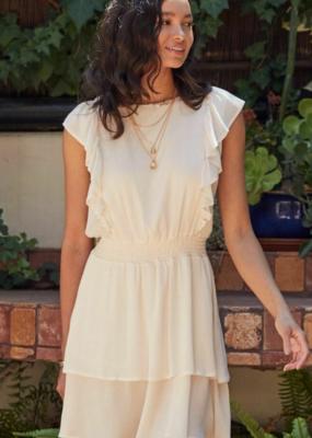 Sadie & Sage Michelle w/ Ruffle Detail Mini Dress